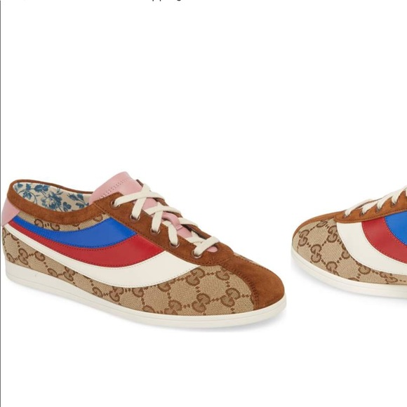 93a52778d41 GUCCI Falacer Lace-Up Sneaker